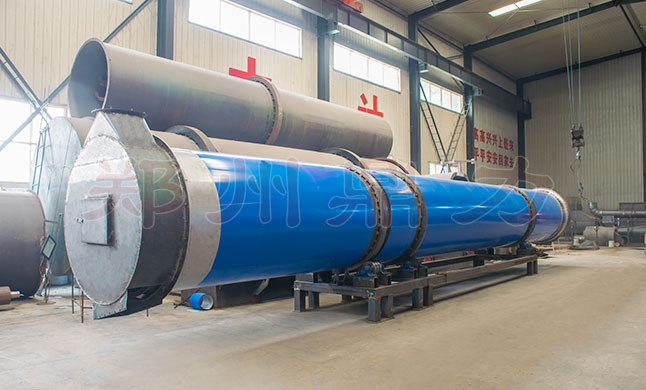 Heated Revolving Cylinder Dryer